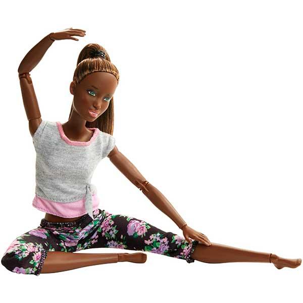 Muñeca Barbie Movimentos sin Limites Negra Articulada - Imagen 1