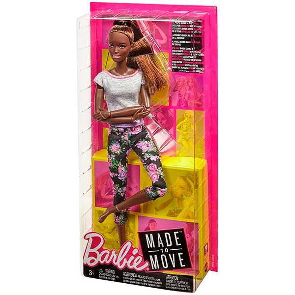 Muñeca Barbie Movimentos sin Limites Negra Articulada - Imagen 2
