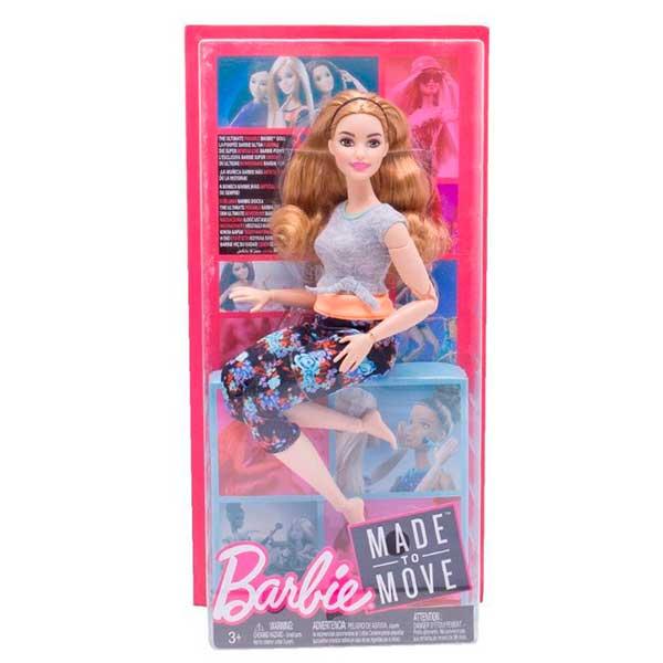 Muñeca Barbie Movimentos sin Limites Peliroja Articulada - Imagen 2