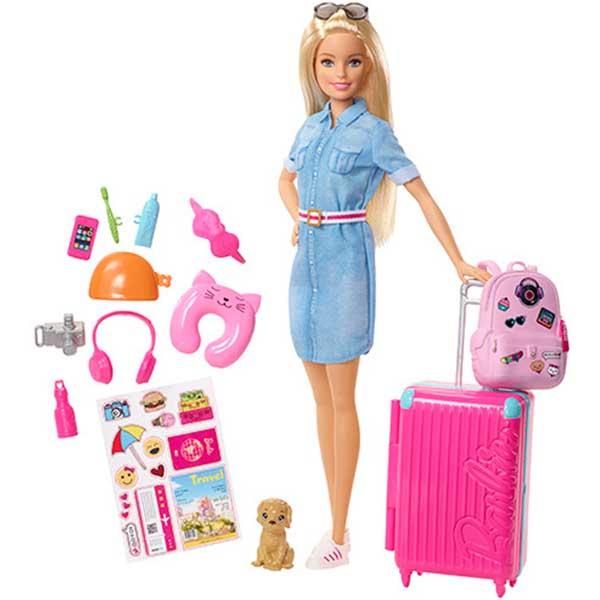 Muñeca Barbie Vamos de Viaje