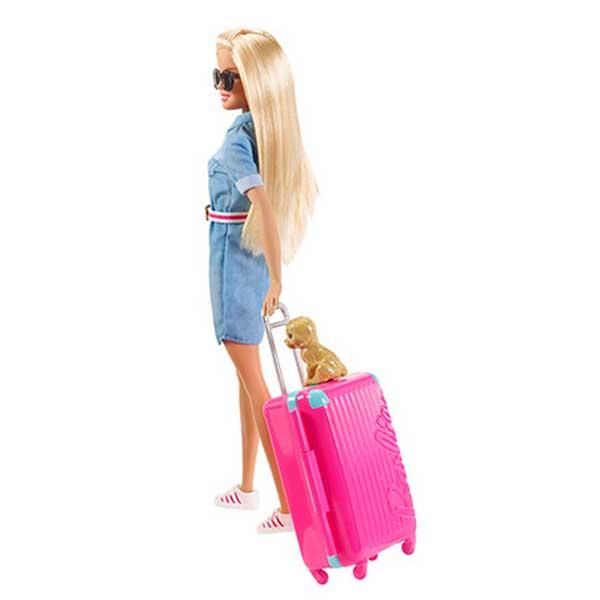 Muñeca Barbie Vamos de Viaje - Imagen 1
