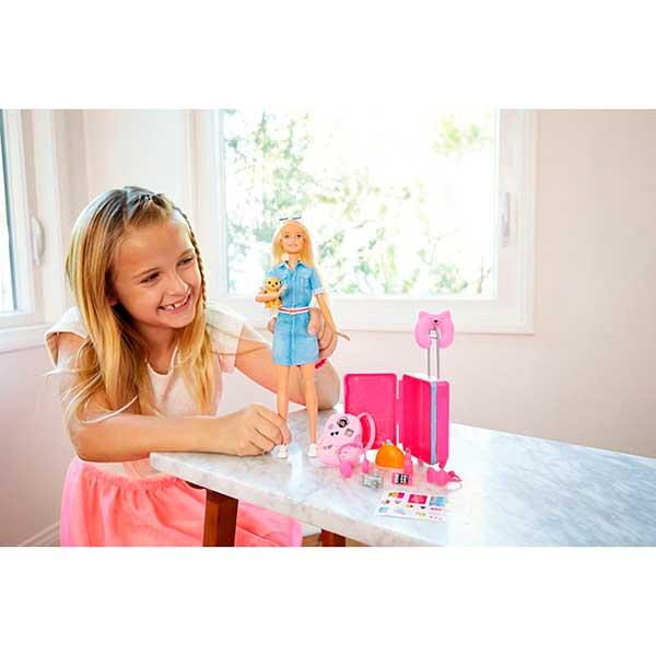Muñeca Barbie Vamos de Viaje - Imagen 2