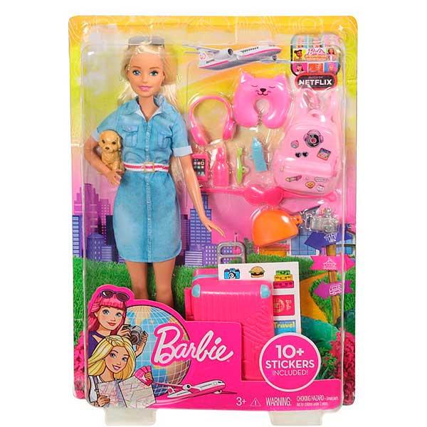 Muñeca Barbie Vamos de Viaje - Imagen 4