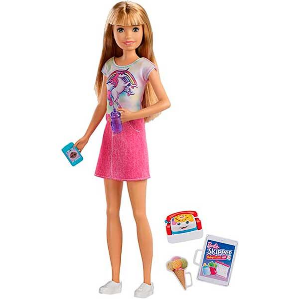 Barbie Muñeca Canguro de Bebés Unicornio - Imagen 1
