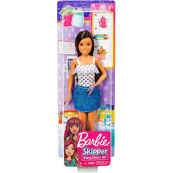 Barbie Muñeca Canguro de Bebés Topos - Imagen 1
