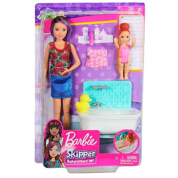 Muñeca Barbie Canguro con Bañera - Imagen 1