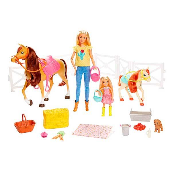 Muñecas Barbie - Chelsea y sus Caballos