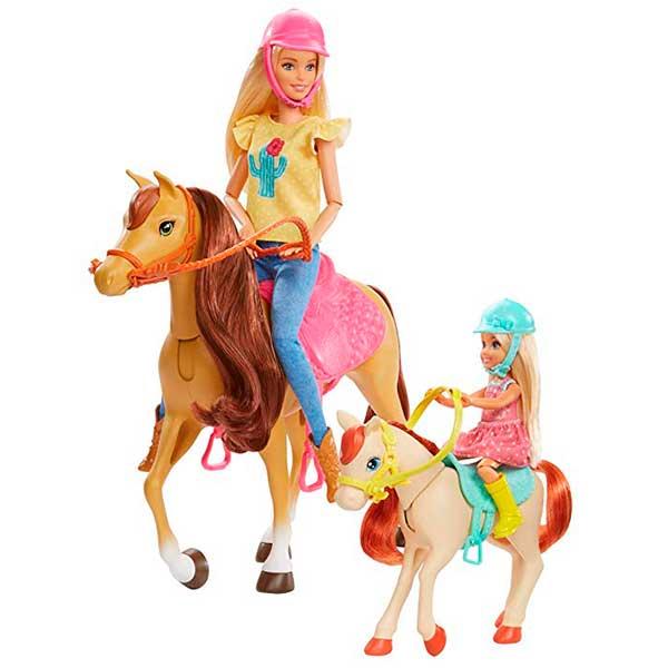 Muñecas Barbie - Chelsea y sus Caballos - Imagen 1