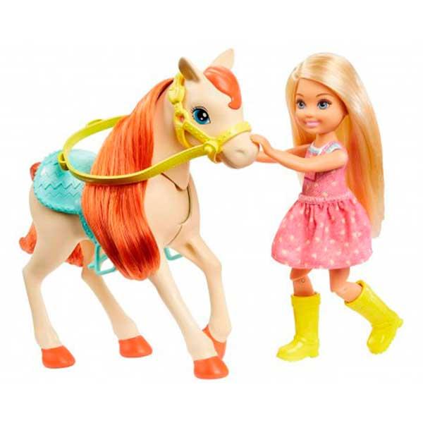Muñecas Barbie - Chelsea y sus Caballos - Imagen 2