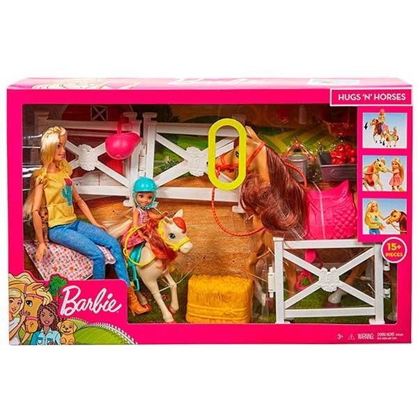 Muñecas Barbie - Chelsea y sus Caballos - Imagen 3