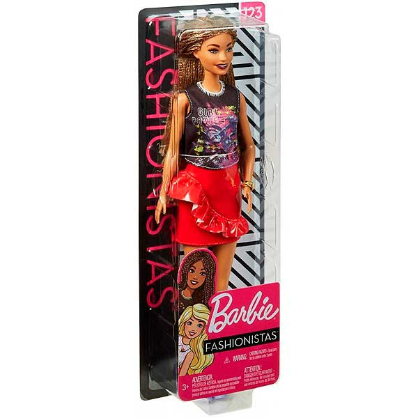 Muñeca Barbie Fashionista #123 - Imagen 3