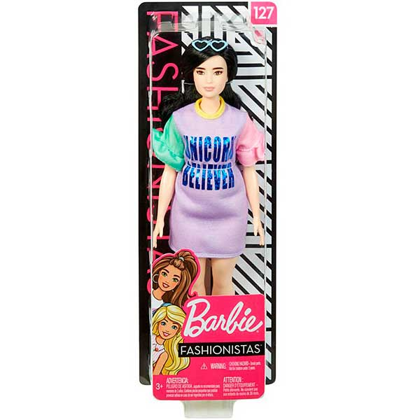 Muñeca Barbie Fashionista #127 - Imagen 2