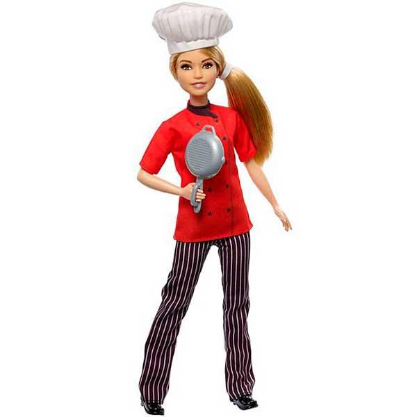 Boneca Barbie Quero Ser Cocinera