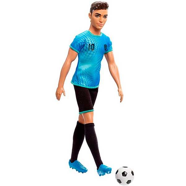 Barbie Muñeco Ken Quiero Ser Jugador Fútbol