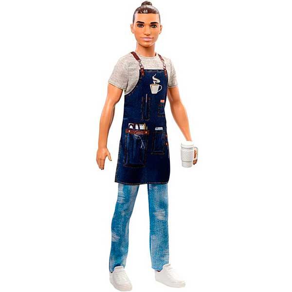 Barbie Muñeco Ken Quiero Ser Barista