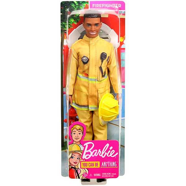Barbie Muñeco Ken Quiero Ser Bombero - Imagen 2