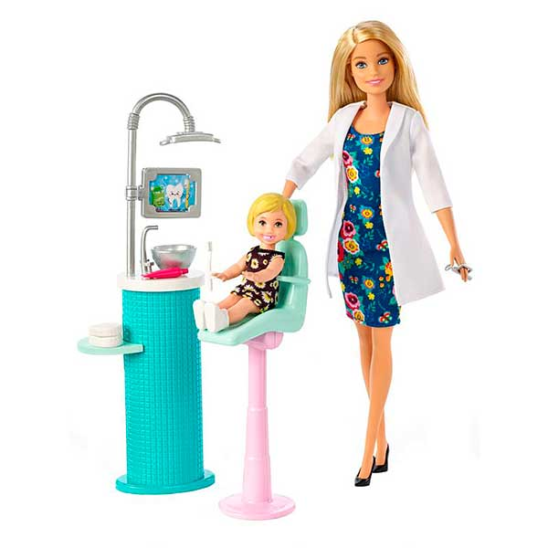 Muñeca Barbie Quiero Ser Dentista - Imagen 1
