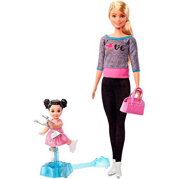 Barbie Boneca Treinador de Patinação