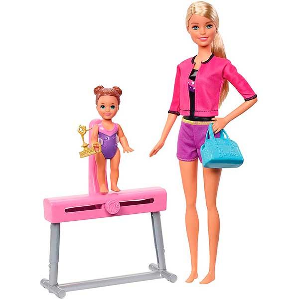 Barbie Muñeca Entrenadora de Gimnasia