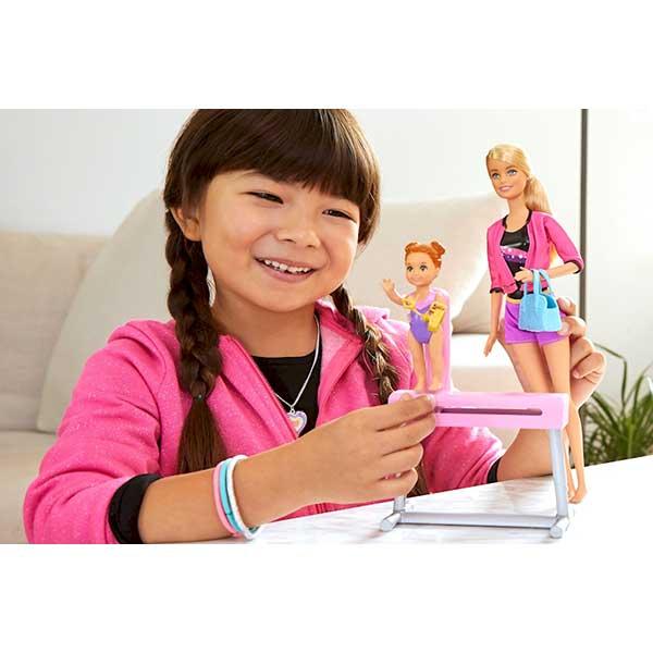 Barbie Muñeca Entrenadora de Gimnasia - Imagen 1