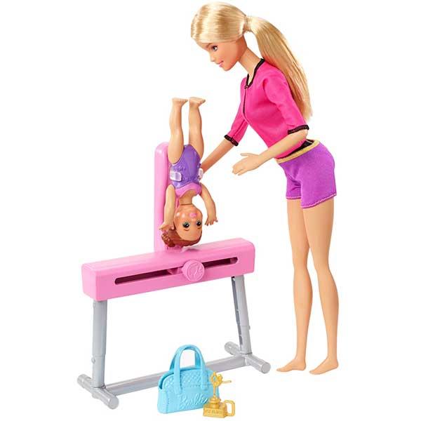 Barbie Muñeca Entrenadora de Gimnasia - Imagen 2