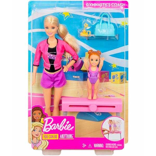 Barbie Muñeca Entrenadora de Gimnasia - Imagen 4