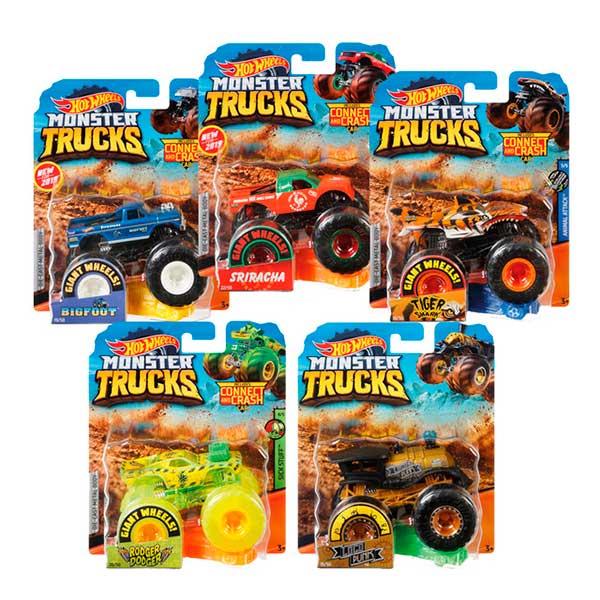 Coche Hot Wheels Vehiculo Monster Truck 1:64 - Imagen 1