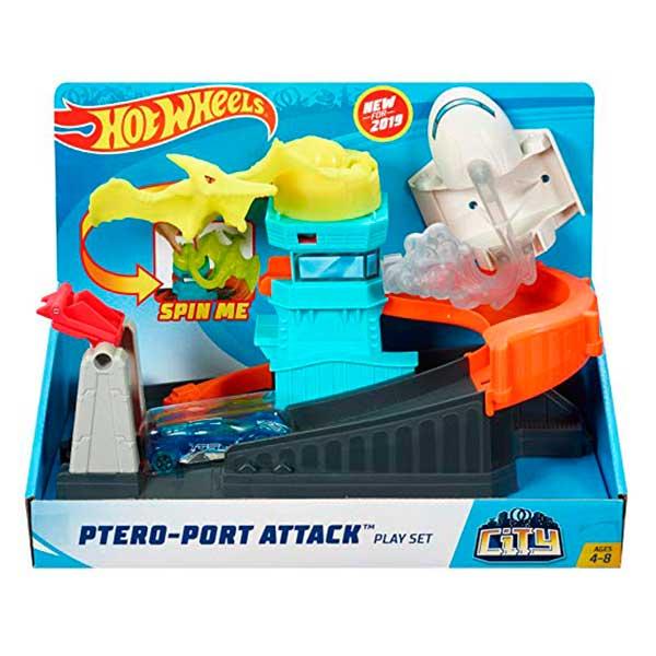 Pista Hot Wheels Dino Pteris-Puerto Ataque - Imagen 3