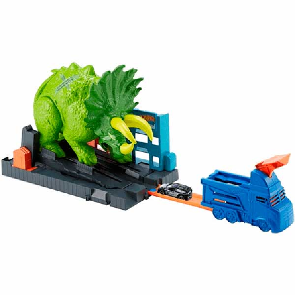 Pista Hot Wheels Ataque del Triceratops - Imagen 1