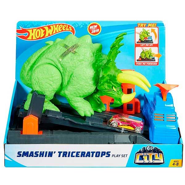 Pista Hot Wheels Ataque del Triceratops - Imagen 2