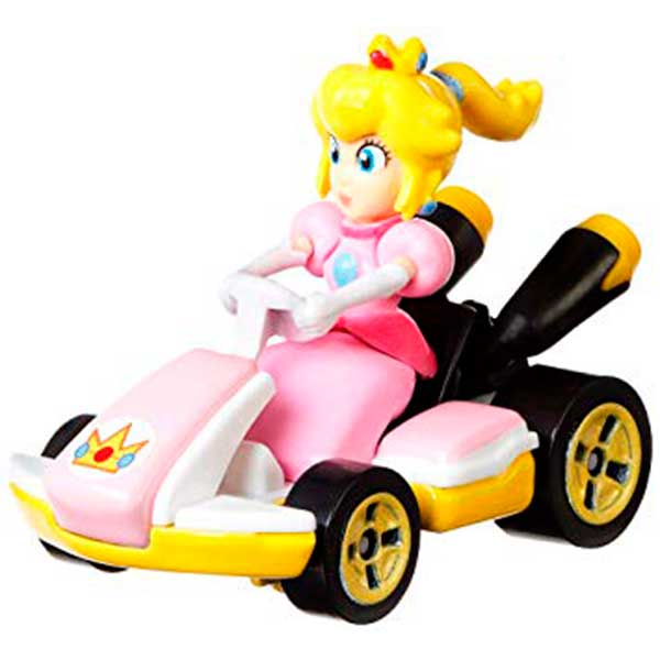 Coche Mario Bros Hot Wheels Peach