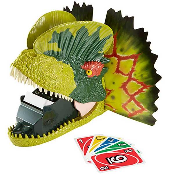 Juego Uno Attack Jurassic World