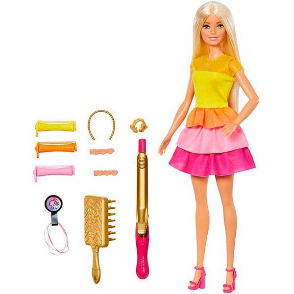 Muñeca Barbie Ultimate Curls Peinados - Imagen 1