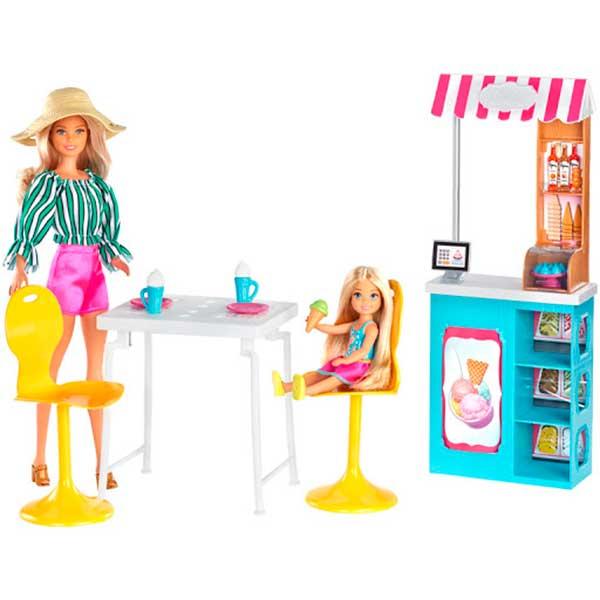 Muñeca Barbie Conjunto Heladería - Imagen 2