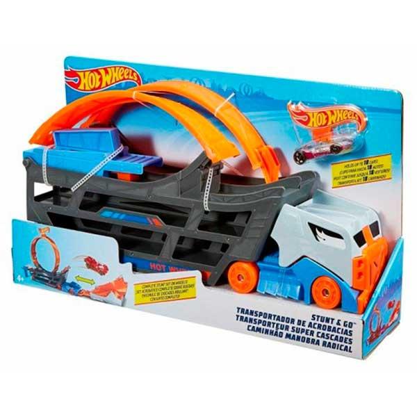 Hot Wheels Camión Looping Acrobático - Imagen 1