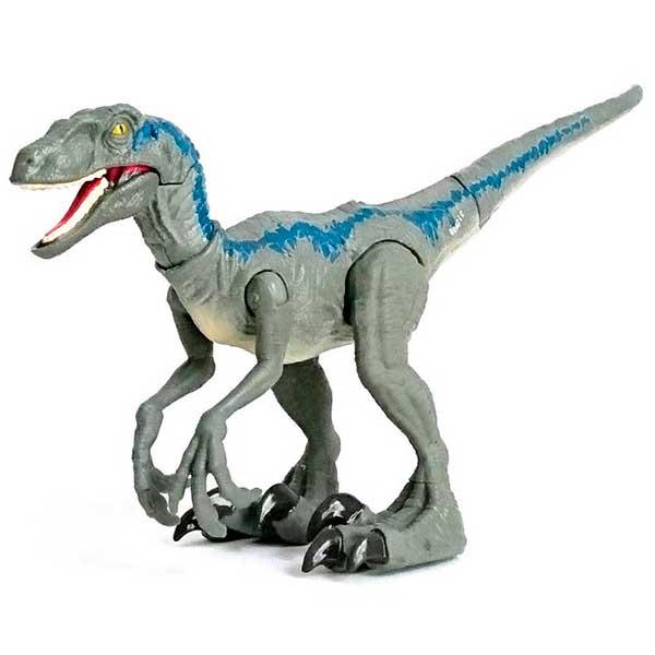 Jurassic World Figura Dinosaurio Velociraptor Blue Dino Rivals - Imagen 1