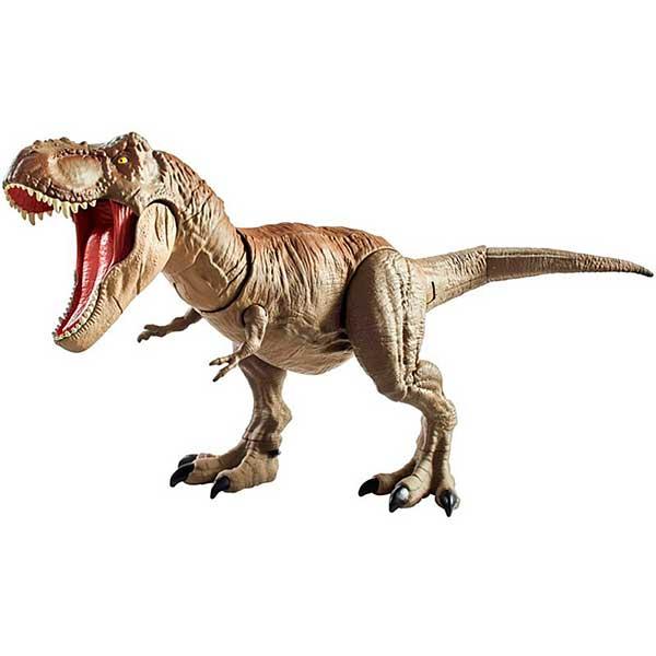 Jurassic World Figura Dinosaurio T-Rex Mega Ataque 55cm