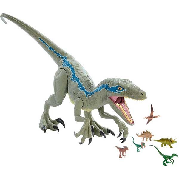 Jurassic World Figura Dinosaurio Blue Super Colosal 106cm