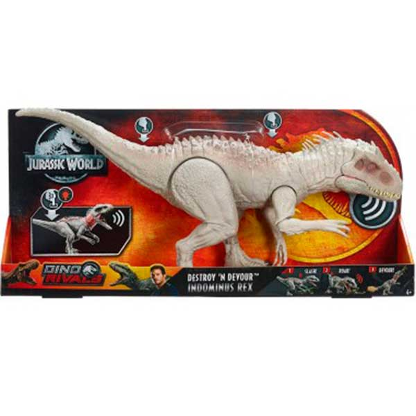 Jurassic World Figura Dinosaurio Indominus Rex 58cm - Imagen 1