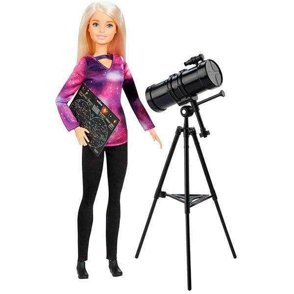 Muñeca Barbie Astrónoma National Geographic - Imagen 1
