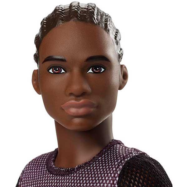 Barbie Muñeco Ken Fashionista #130 - Imagen 1