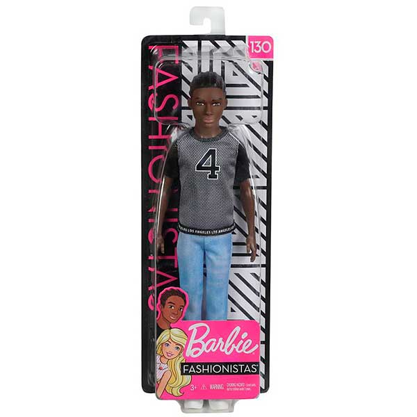 Barbie Muñeco Ken Fashionista #130 - Imagen 2