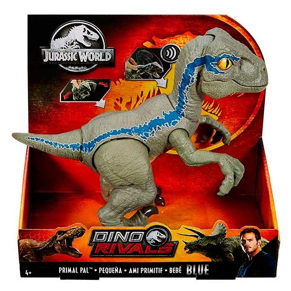 Jurassic World Figura Dinosaurio Blue Bebe Sons - Imatge 3