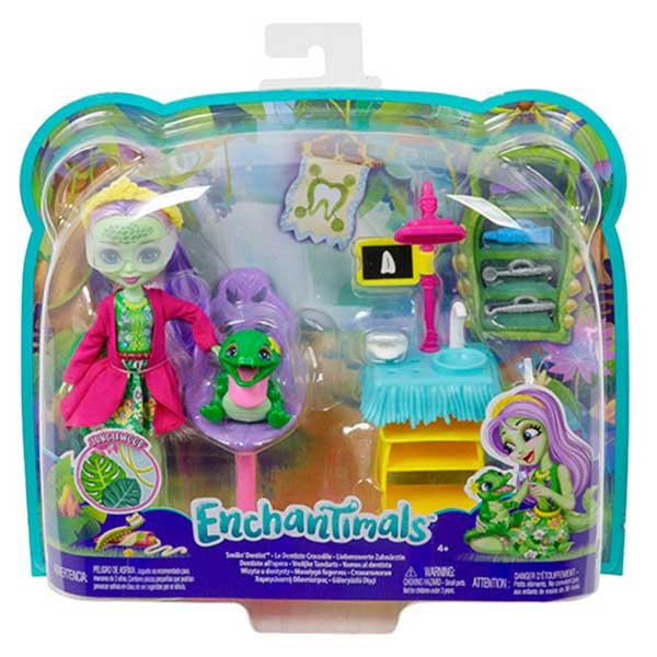 Enchantimals Andie Alligator Dentista - Imagen 2