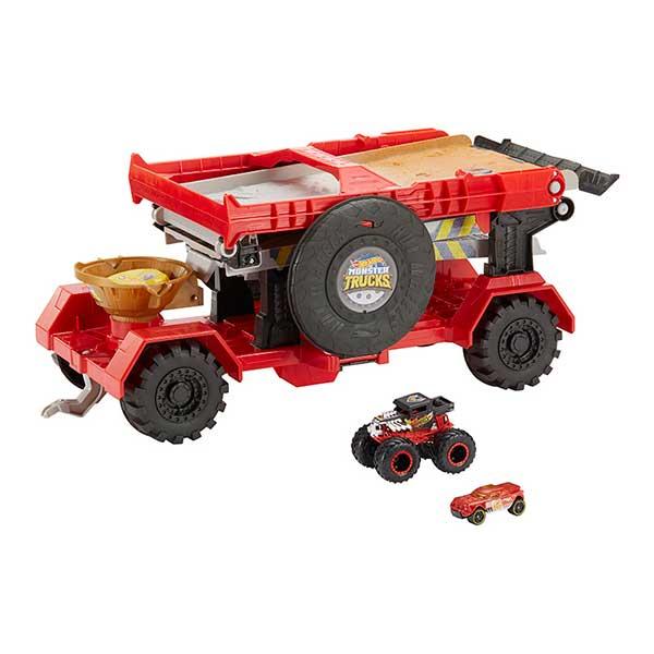 Pista Hot Wheels Downhill Monster Truck