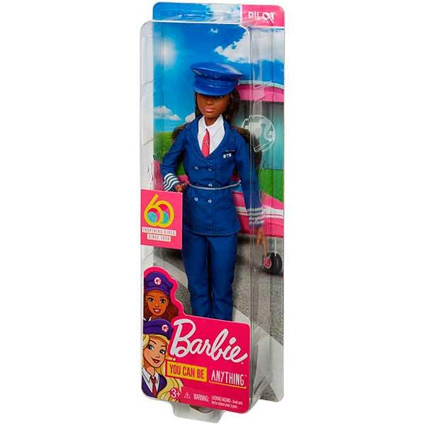 Muñeca Barbie Piloto 60 Aniversario - Imagen 1