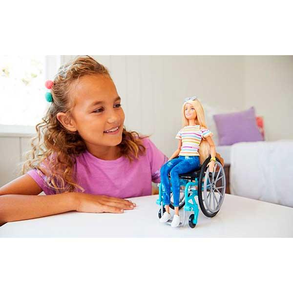 Muñeca Barbie Fashionista Silla de Ruedas #132 - Imagen 1