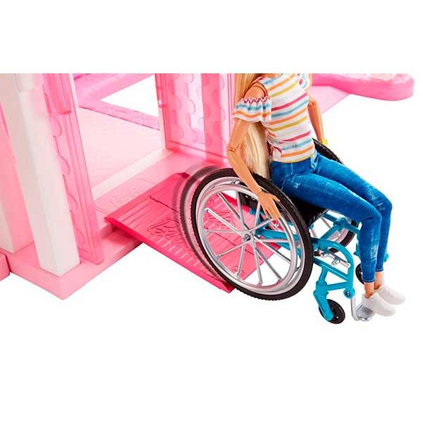 Muñeca Barbie Fashionista Silla de Ruedas #132 - Imagen 2