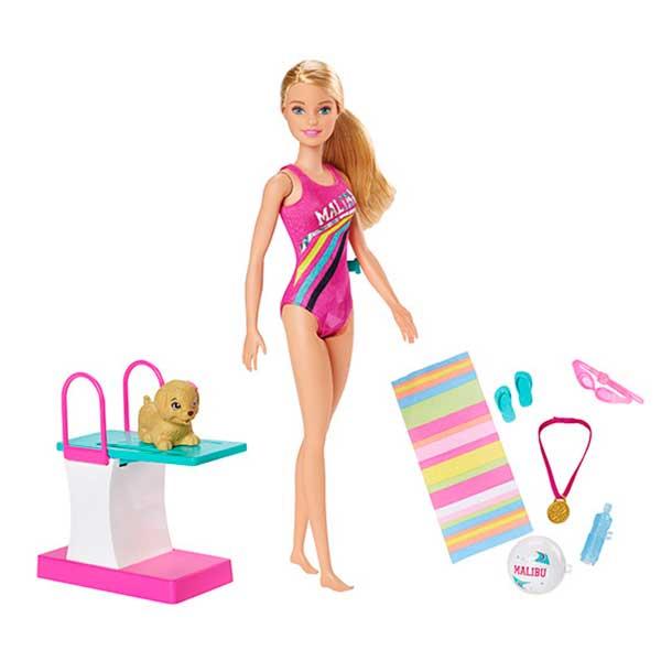 Muñeca Barbie Nada y Bucea - Imagen 1