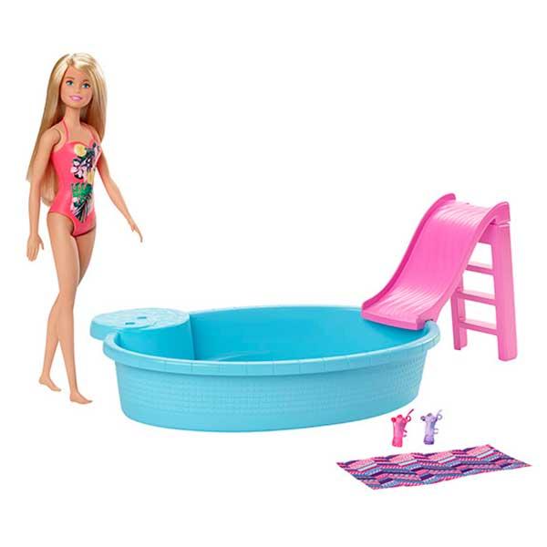 Muñeca Barbie con Piscina